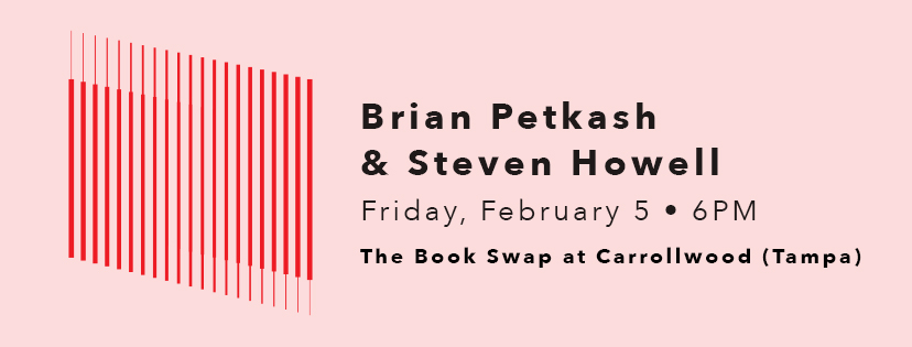 An evening of words with Brian Petkash and Steven Howell